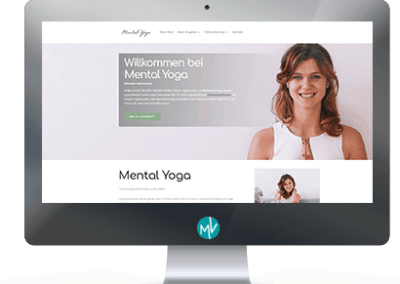 Mentalyoga.at Website